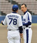 右が高木コーチです。